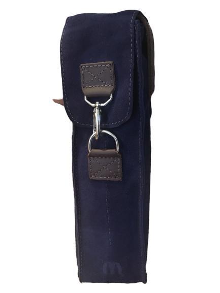 Bolsa Camurça para 1 Garrafa