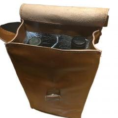 Bolsa em Couro para 2 Garrafas