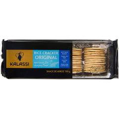 Biscoito de Arroz Cracker Original Kalassi